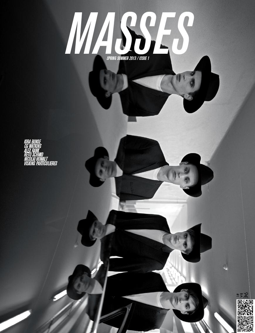 MASSES MAGAZINE ISSUE 1 BY KIRA BUNSE, ERIC DIULEIN & SACHA QUINTIN