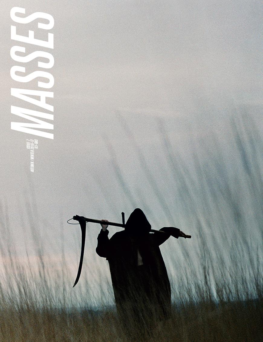 MASSES MAGAZINE ISSUE 7 COVER BY CG WATKINS, ERIC DIULEIN & SACHA QUINTIN