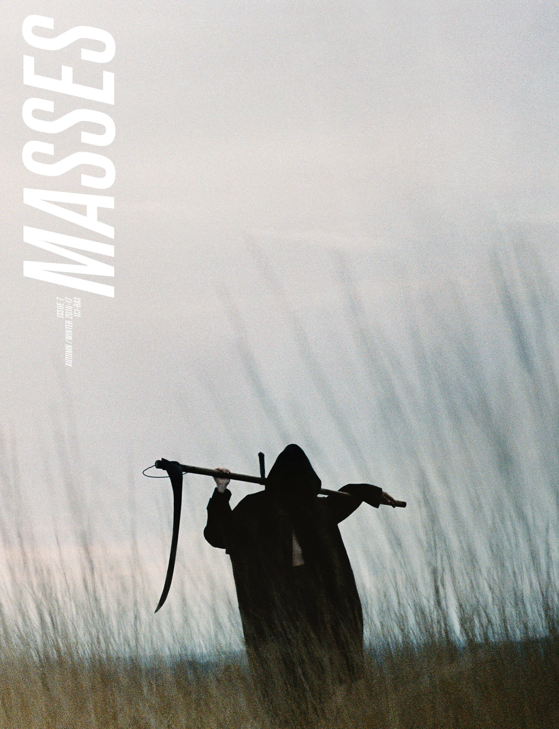 MASSES Magazine Issue No. 7 – Cover photographed by CG Watkins and Eric Diulein & Sacha Quintin with Daniel Lucien at Tomorrow Is Another Day wearing Dries Van Noten