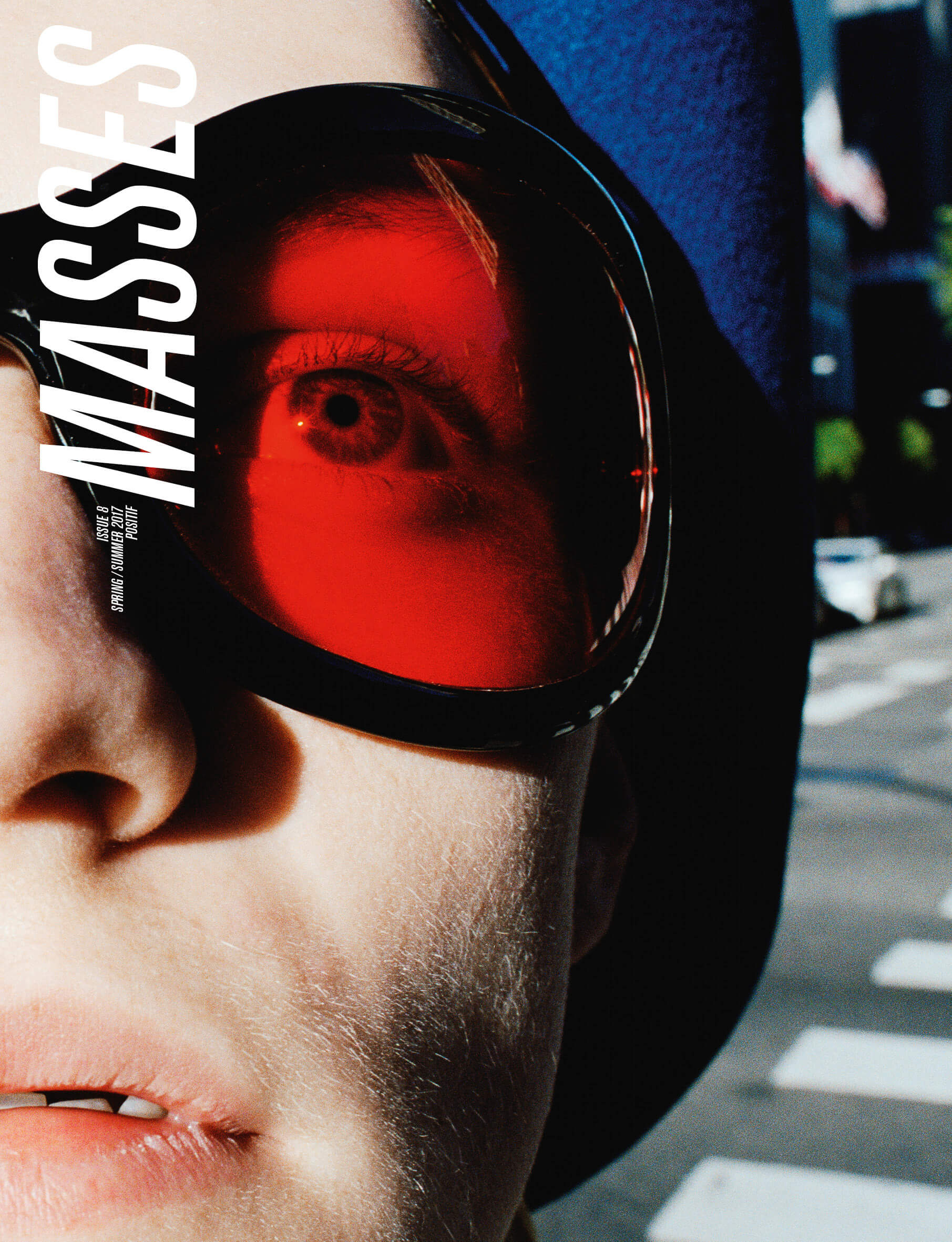 MASSES Magazine Issue No. 8 – Cover photographed by CG Watkins and Jay Massacret with Turner Barbur